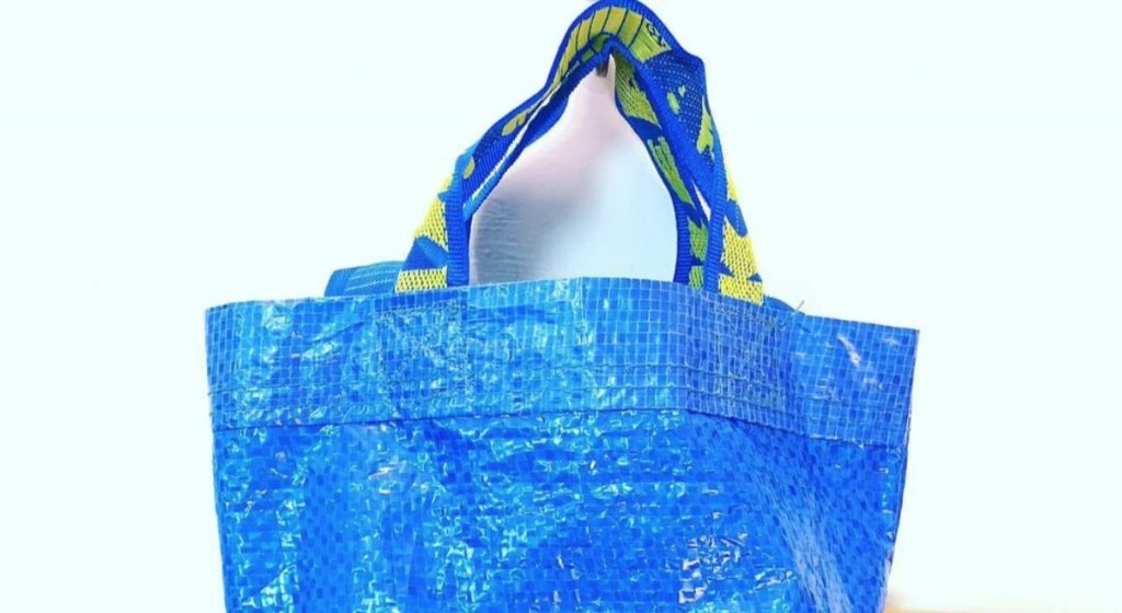 ikea blue bag